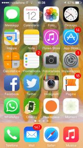 Lo smartphone di Alessio Carciofi