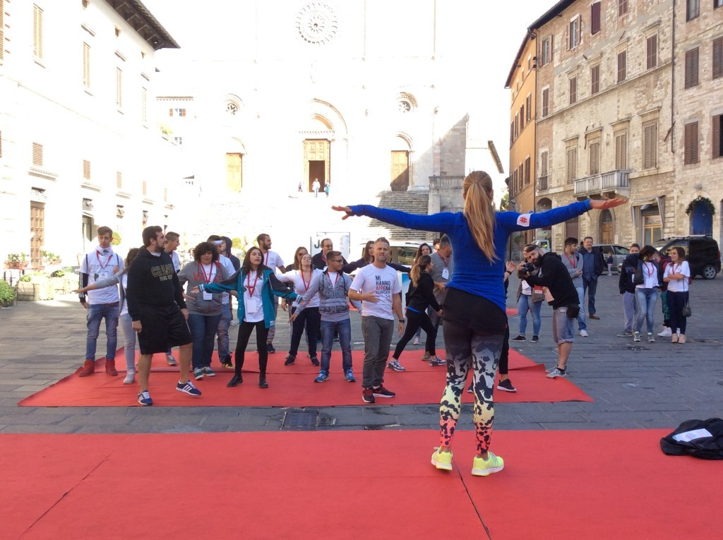 Workout con Runtastic - Todi Appy Days 2015