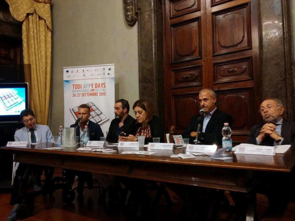Conferenza stampa di Todi Appy Days
