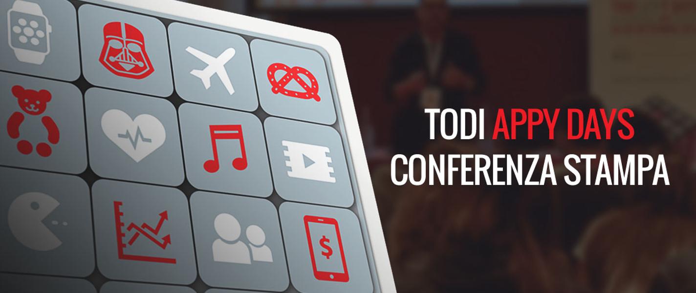 Il mondo digital si incontra in Umbria! Dal 24 al 27 Settembre 2015 torna Todi Appy Days con tante APPassionanti novità